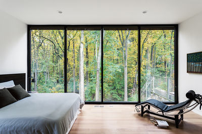 McLean, Virginia, Bridge House Master Bedroom