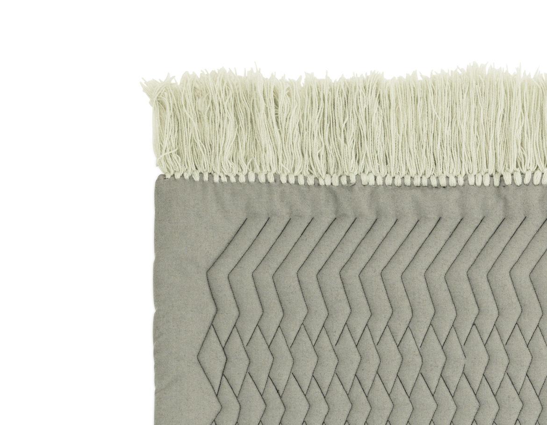 The edge of a new rug designed for Normann Copenhagen