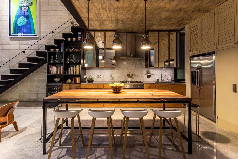 Raw House kitchen