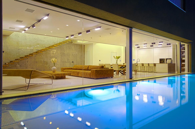Hidden House pool