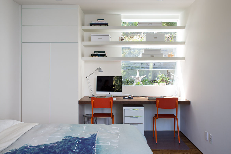 Orinda addition guest bedroom