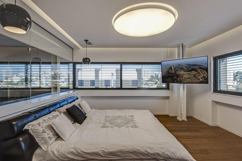 Hidden House master bedroom