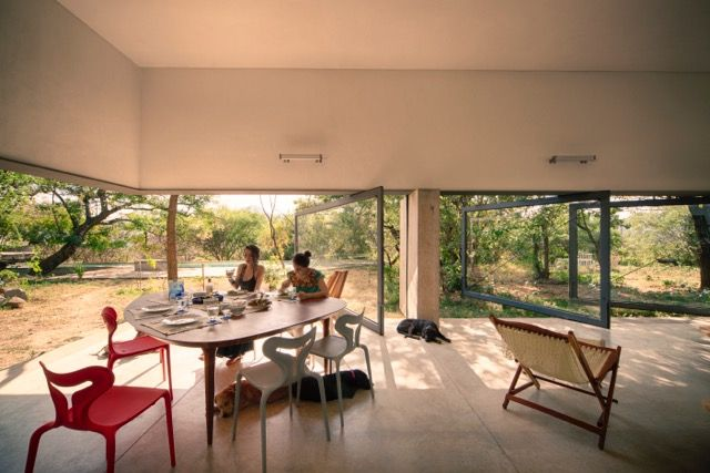 Meztitla house dining room