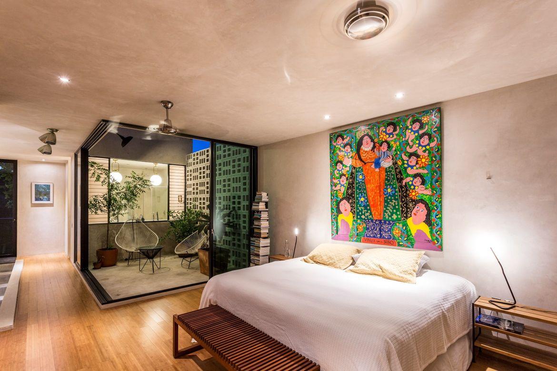 Raw House bedroom