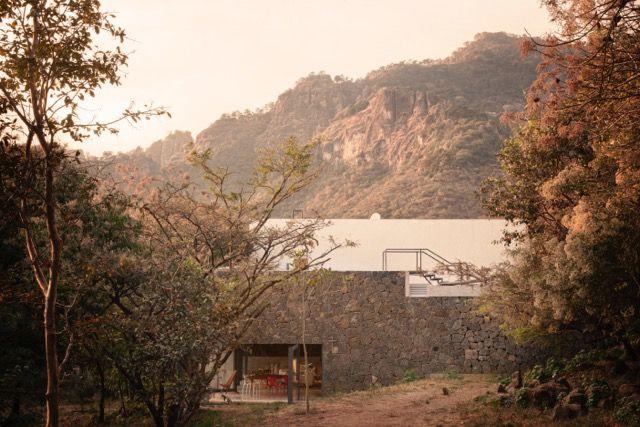 Meztitla house stone exterior