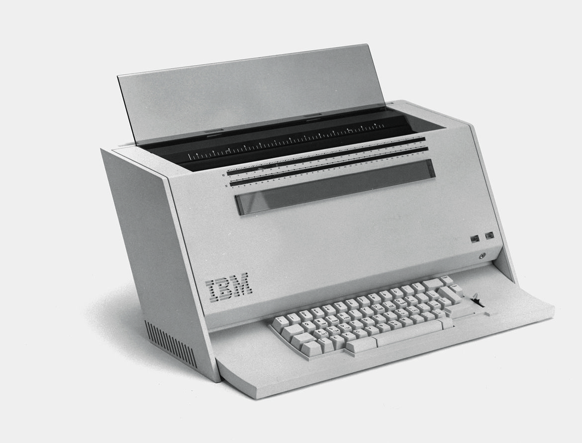 IBM Upright Typewriter Prototype