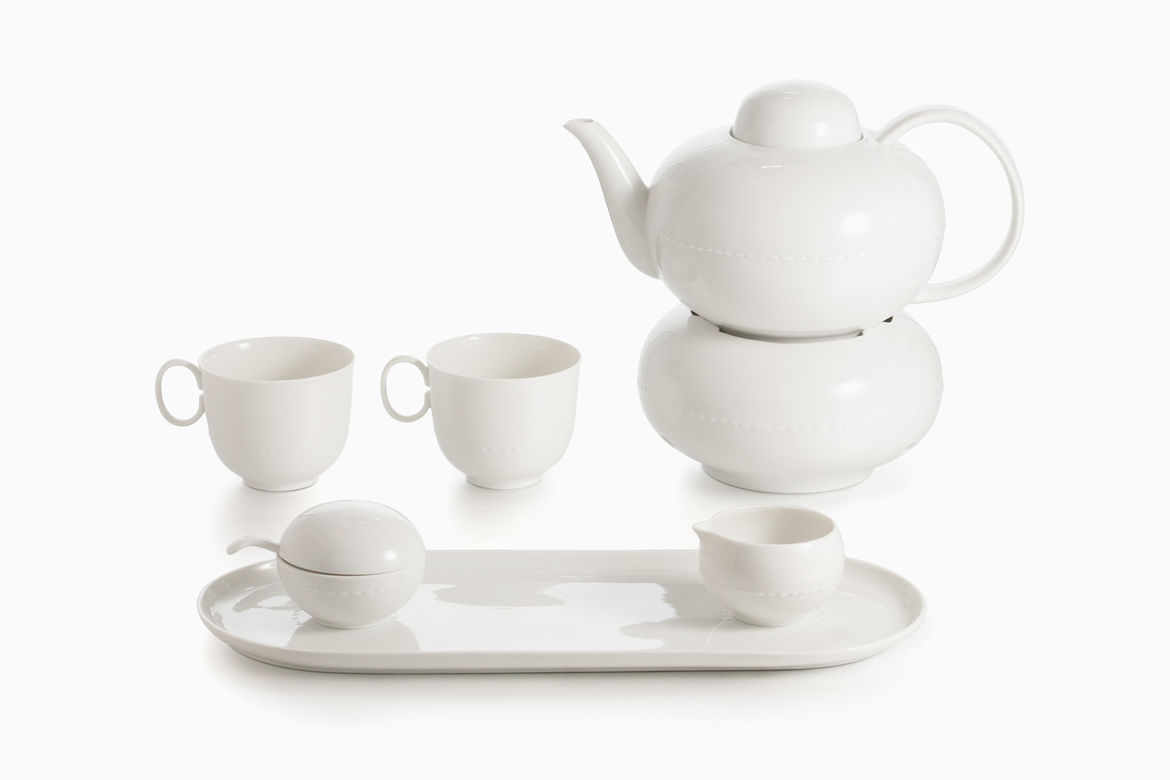 Haute Couture Tea Service (2001) by Konstantin Grcic, estimated at $1,800–$2,500 at Paddle8, for Murray Moss auction