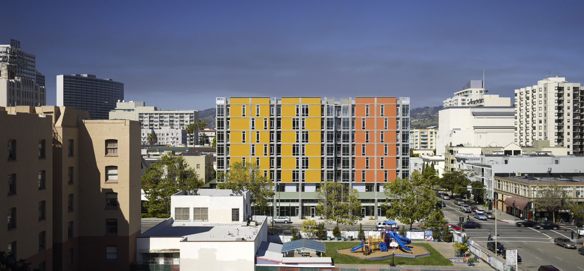"""Project: Madison at 14th Apartments<p></p>Location: Oakland, California<p></p>Developer: Affordable Housing Associates<p></p>2010 ULI Award for Excellence: The Americas nomination:""""The product of a complex and successful public-private financing scheme,"""