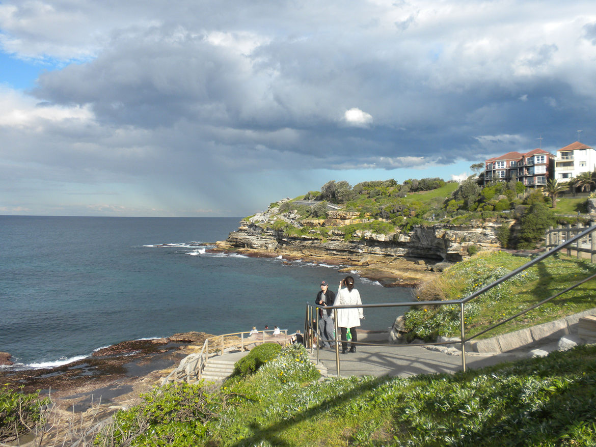 """One of our favorite walks was our stroll from Bondi Beach to Bronte Beach, suggested by several friends and <a href=""""http://www.twitter.com/dwell"""">Dwell</a> follower <a href=""""http://www.twitter.com/wailui"""">@WaiLui</a>. The less-than-three-mile path hugs t"""