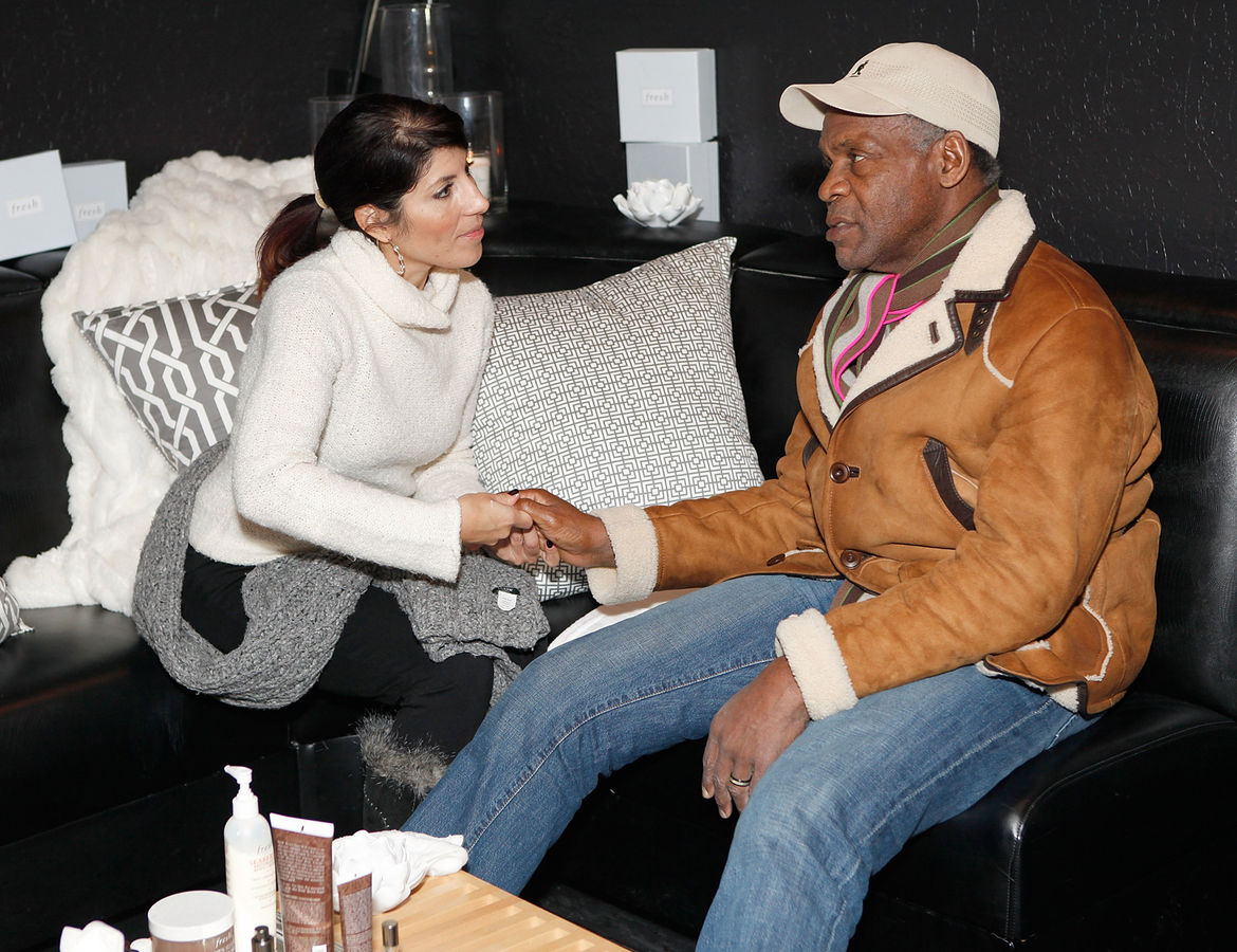 "Actor Danny Glover spent a bit of time in the cosmetics firm Fresh's end of the lounge. <br /><br /><p><em><strong>Don't miss a word of Dwell! Download our </strong></em><a href=""http://itunes.apple.com/us/app/dwell/id411793747?mt=8""><em><strong> FREE app"