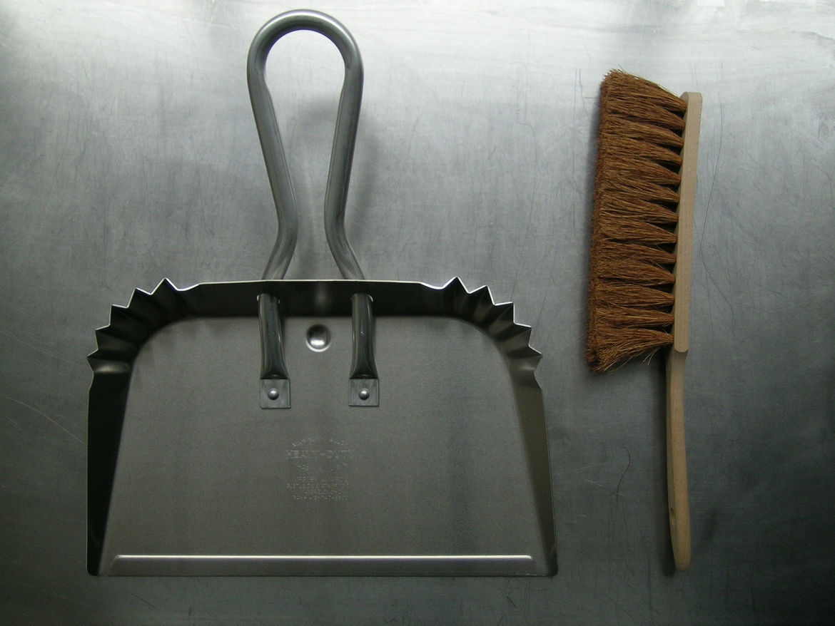 "<b>Giant Dustpan</b> ""One of our all time favorites. We first saw this product in the United States. We were instantly drawn to its practical and simple styling."" Photo courtesy of Labour and Wait."