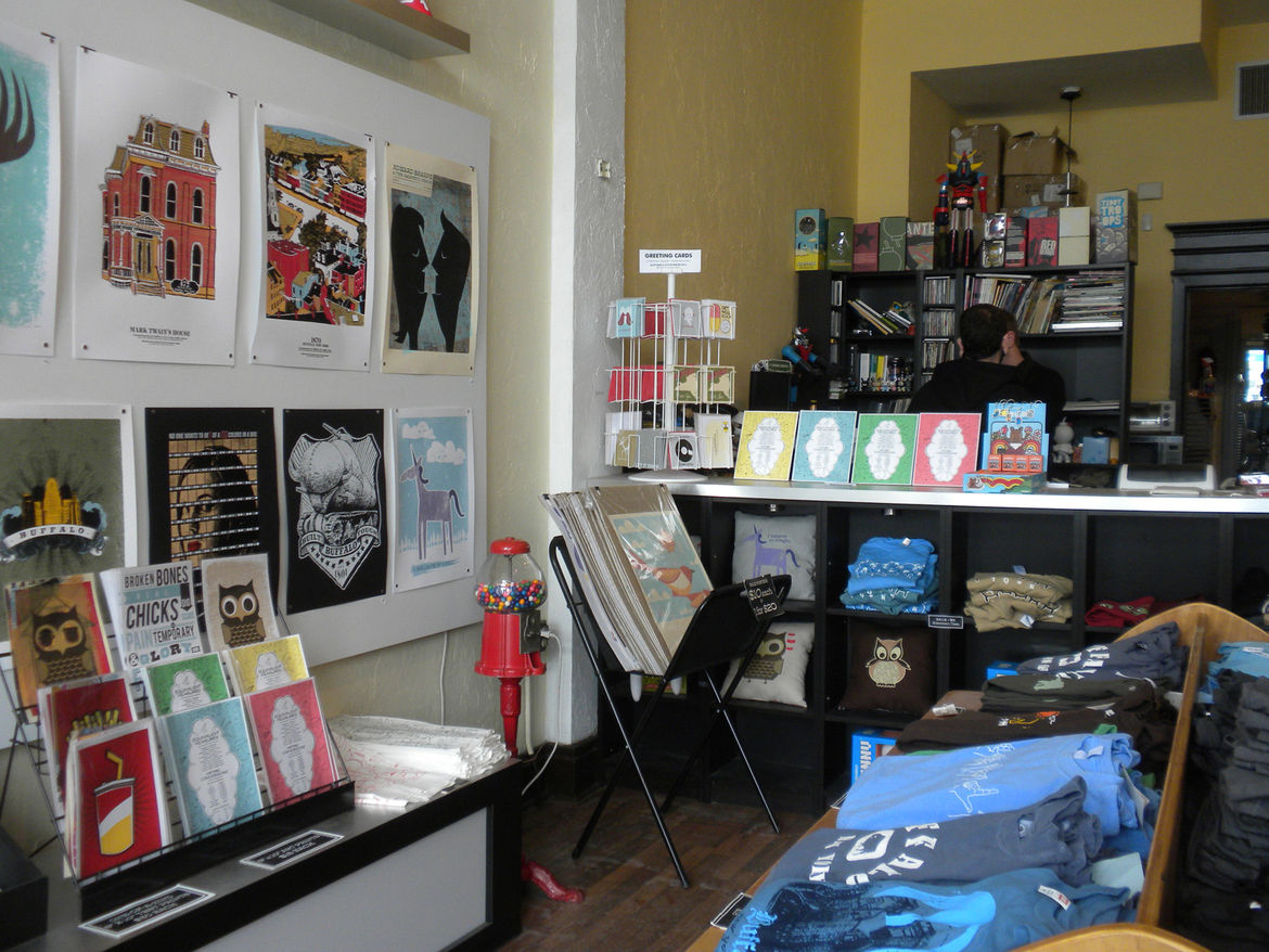 By 2005, Mark and Beth were printing their own posters and in 2006 they exhibited at Flatstock for the first time (and have returned every year since and will be there again this year). In September 2006, they opened their storefront.
