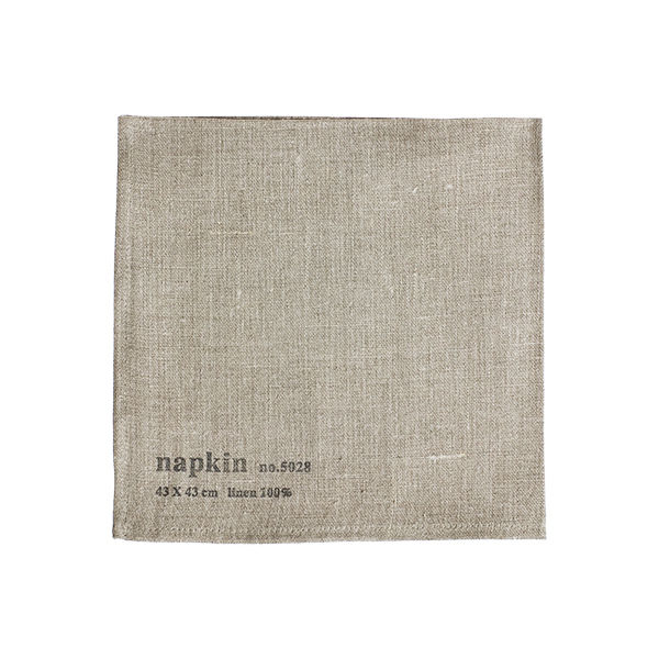 "<h3>Linen Napkin in Natural, Fog Linen Work, $13</h3>Alissa Parker-Walker: ""I have been a fan of Yumiko Sekine's beautiful linen pieces ever since I first laid eyes on them. Quality linen, superb craftsmanship and perfectly executed design make her items"