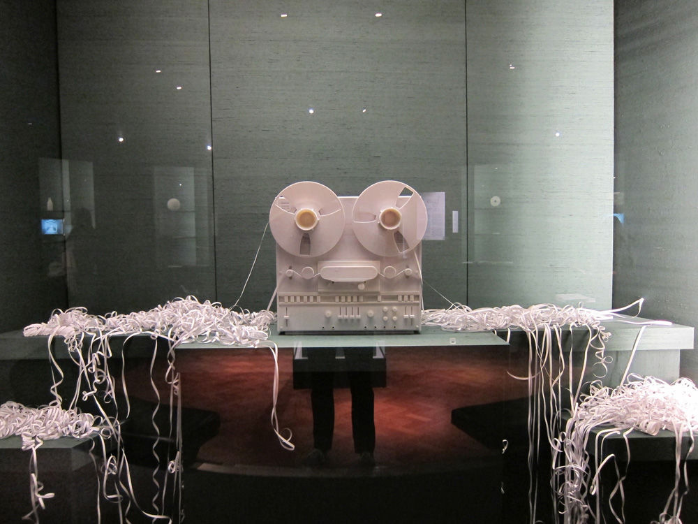 """The venerable Victoria & Albert museum is something of a hub for the wide-ranging festival, and the definite highlight of the installations on display in the museum is to be found in the basement level. <a href=""""http://www.vam.ac.uk/collections/contempora"""