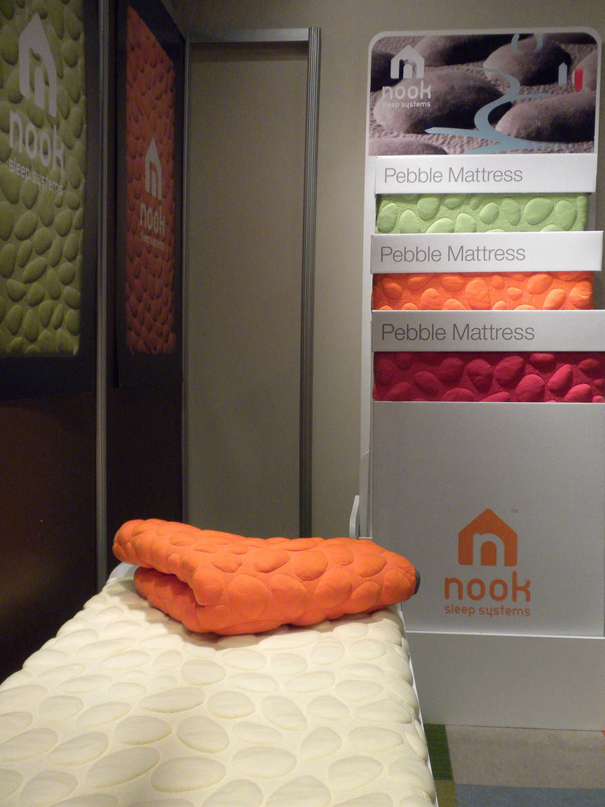 "For parents keen on keeping chemicals away from their newborns, <a href=""http://nooksleep.com/"">Nook Sleep Systems</a> offers the Pebble Organic mattress, which is made with eucalyptus, organic cotton, organic wool, and natural latex, among a few other co"