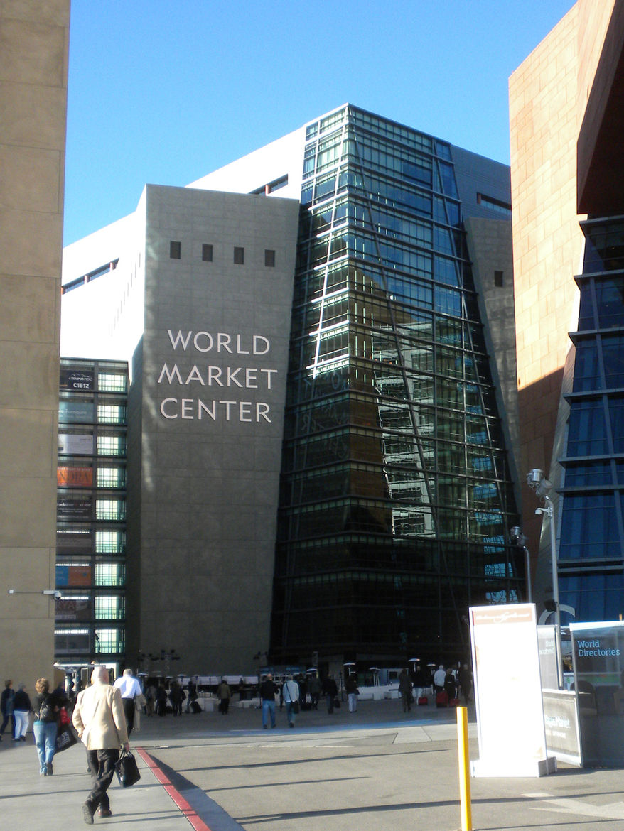The World Market Center in Las Vegas houses a whole heck of a lot of design. Currently three buildings, the plan is to eventually create more than 12 million square feet of show space spread across eight structures. Deciding where to start before stumblin