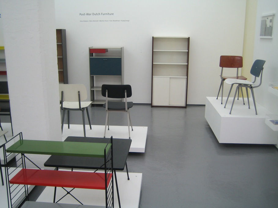 Elsewhere in Rocket Gallery they had on an exhibit of post-war Dutch design that had all the purity of form and clarity of purpose you'd expect. The gallery had the feel of a small museum, and one where no one hollered at you if you laid a hand on a bit o