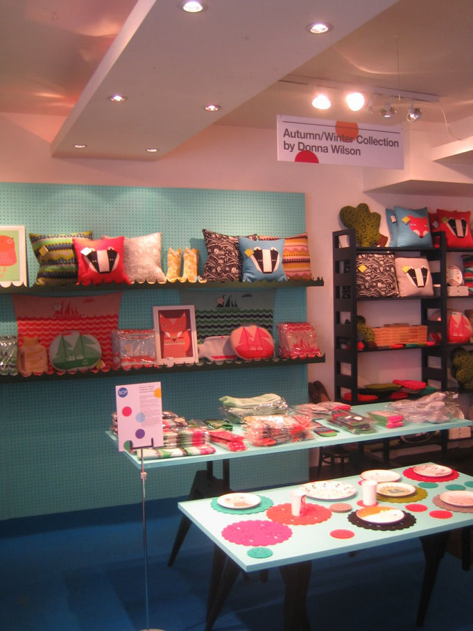 """I popped into the amazing <a href=""""http://www.scp.co.uk/"""">SCP</a> design department store on Curtain Road for a glimpse of SCP's British-made products by a host of wonderful young designers like <a href=""""http://www.dwell.com/people/donna-wilson.html?tab=d"""
