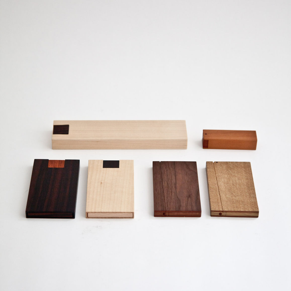 """<b><a href=""""http://store.mjolk.ca/index.php?product=Card+Case+Type+M&shop=1 """">3. Business card cases by Masakage Tanno.</a></b> """"One of the first items we ordered for the store were these oak and walnut magnetic business card cases by master craftsman Mas"""