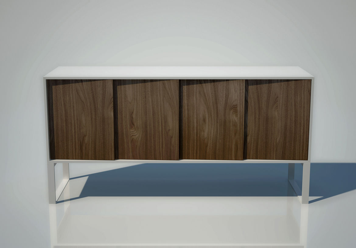 "Italian manufacturer <a href=""http://www.horm.it/"">Horm</a> will be showing its new Oblique console designed by designer <a href=""http://www.indriolo.info/"">Salvatore Indriolo</a>."