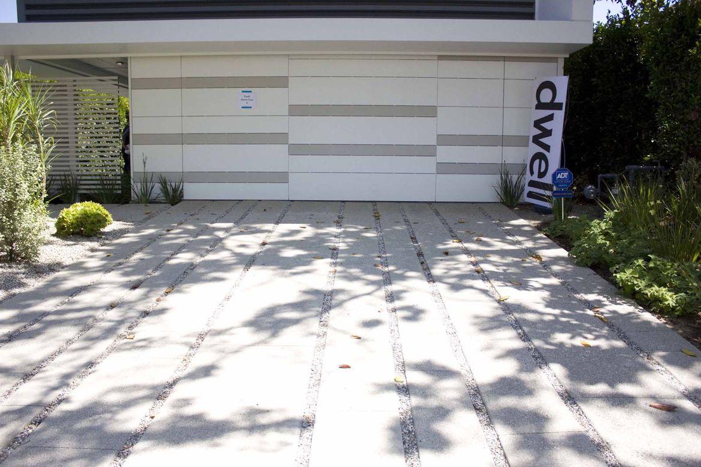 The garage door is commercial grade, which means that it needs less maintenance than a regular garage door.