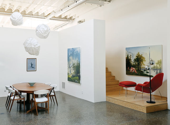 The architecture firm Wonder Inc. designed this 3,300-square-foot home and studio hybrid for artist Kent Monkman in Toronto.