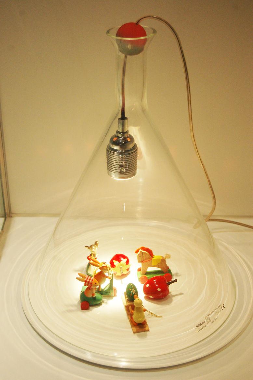 "<a href=http://www.emilianadesign.com/"">Emiliana Design Studio</a> created this glass vitrine, and won the Delta, in 2005."