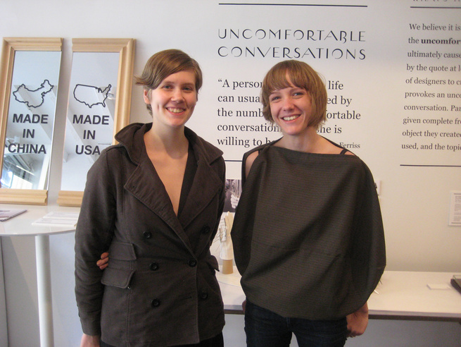 Liz Kinnmark and Kegan Fisher, the dynamic duo behind Design Glut, have exhibited at the Javits Center the past few years, but decided that something off-site would allow them a little more freedom to be conceptual rather than product-driven.
