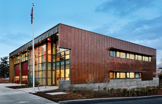 Fire Station 30 by Schacht Aslani Architects