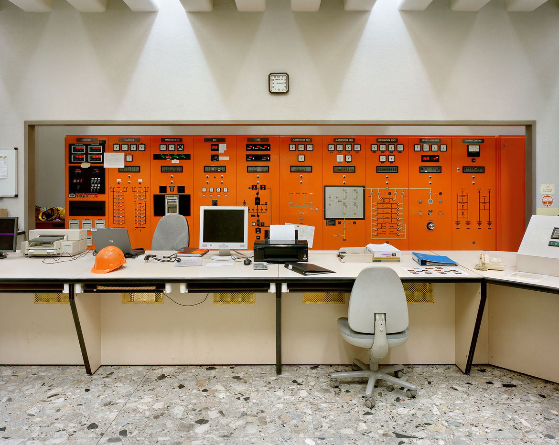 Inside La Bâthie's control room