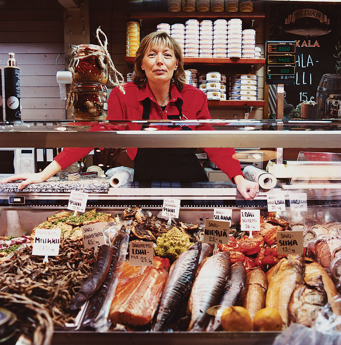 The Kauppahalli marketplace offers an eclectic selection of local foods and personalities.