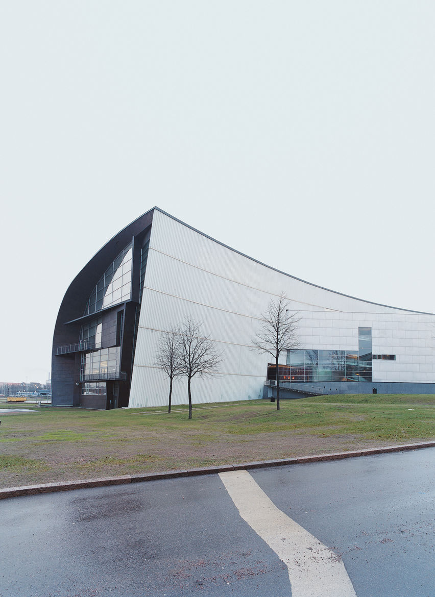 The Kiasma, which opened in 1998, is Helsinki's contemporary art museum. Designed by Steven Holl, the building's scale is based on the dimensions of the human body.