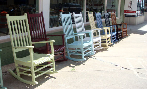 The piece of furniture most associated with North Carolina: the rocking chair.