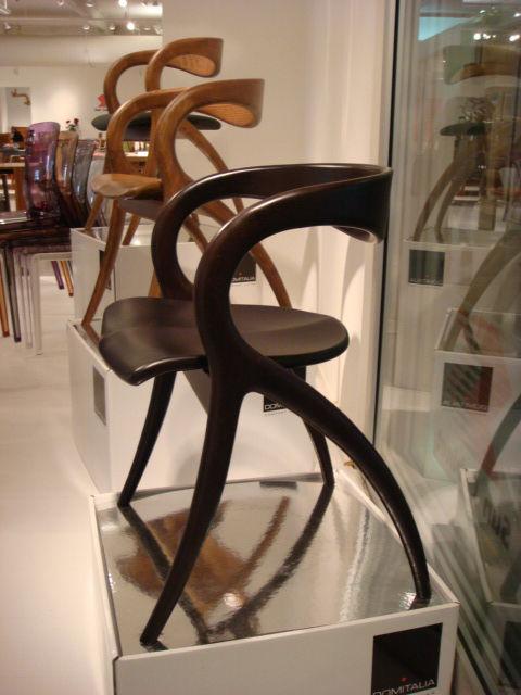"The Star chair, designed by Adriano Balutto for <a href=""http://www.domitalia.it/"">DOMITALIA</a>."