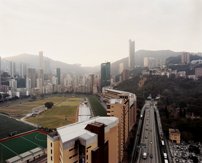 Nestled amidst the high-rises and road-ways of Hong Kong Island's Causeway Bay  district, the Happy Valley Racecourse is one of two tracks that see billions of dollars  wagered each season. Hong Kong's first official horse race was held on this site in 18