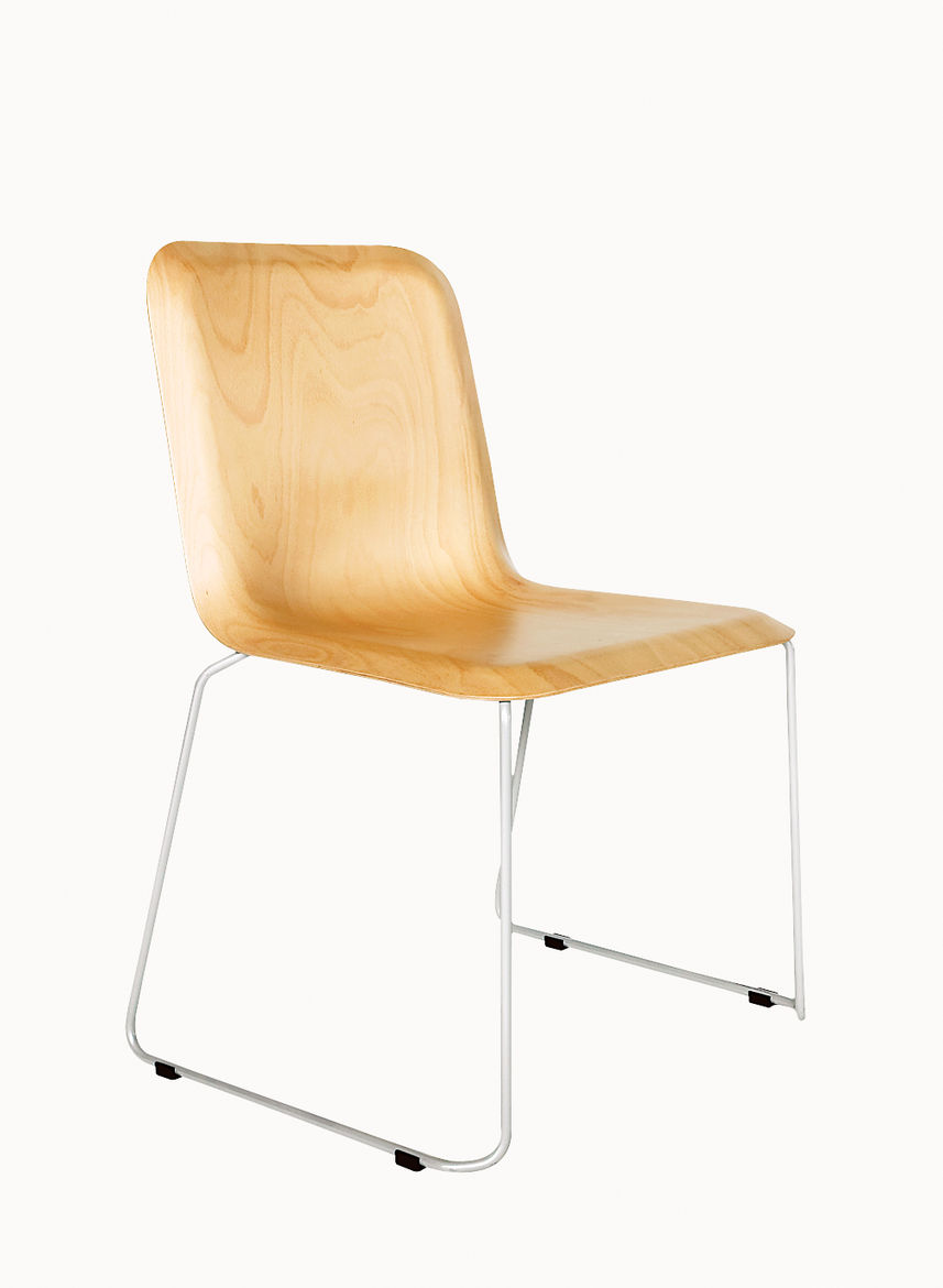 This Chair demonstrates the strictness of Hutten's working method; it looks simple but was two-and-a-half years in the making.