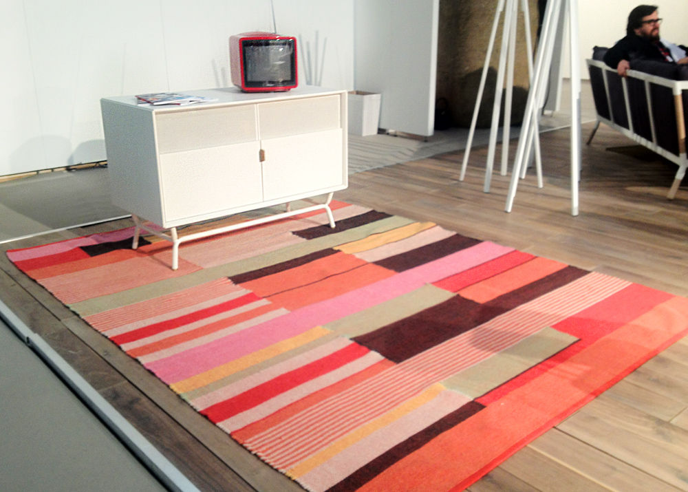"<a href=""http://www.icff.com/exhibitor/blu-dot"">Blu Dot</a> gets into the rug game with several editions that cost less than $600."
