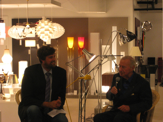 Dwell's very own Editor in Chief Sam Grawe chatted with Sir Terence Conran at the opening of the new flagship Conran Shop, located downstairs in the iconic ABC Home on Broadway. Though Conran was fond of the former Bridgemarket location of his store, he b