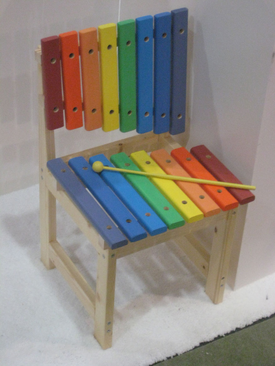 "Play musical chairs. Literally. A cute little Xylophone seat from Dpot.<br /><br /><p><em><strong>Don't miss a word of Dwell! Download our </strong></em><a href=""http://itunes.apple.com/us/app/dwell/id411793747?mt=8""><em><strong> FREE app from iTunes</str"