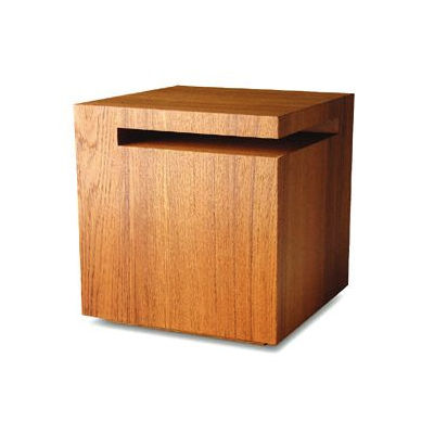 Walnut side table by IZM