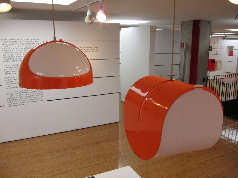 "Gerd Lange's space age 4064/65 suspension lamps prefigure today's popular <a href=""http://www.ylighting.com/krt-fly.html"">FL/Y lamp</a> by Kartell art director Ferruccio Laviani."