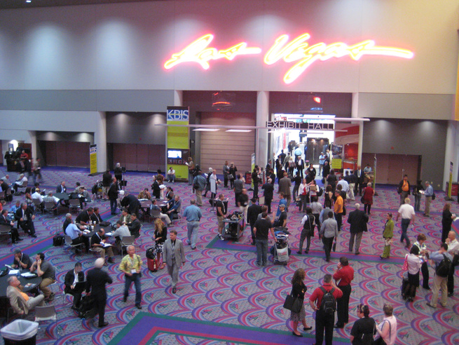 Welcome to Las Vegas! The 2011 Kitchen and Bath Show was held just off the strip in Sin City's convention center.