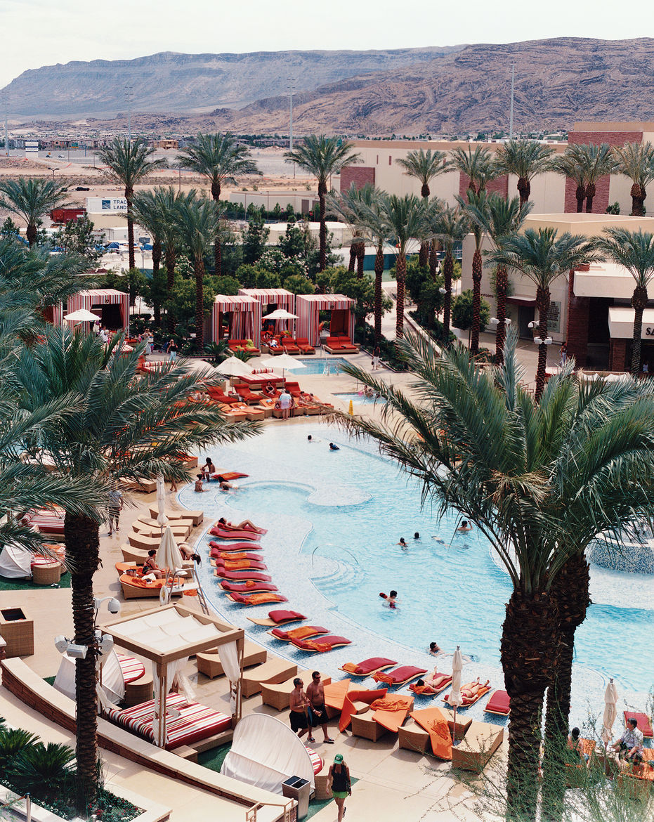 "Red Rock Resort and Casino is a haven away from the chaos of the Strip—and a welcome alternative to a certain other hotel off the Strip, popular with callow youth, that Fogel calls ""The Loserdome."""