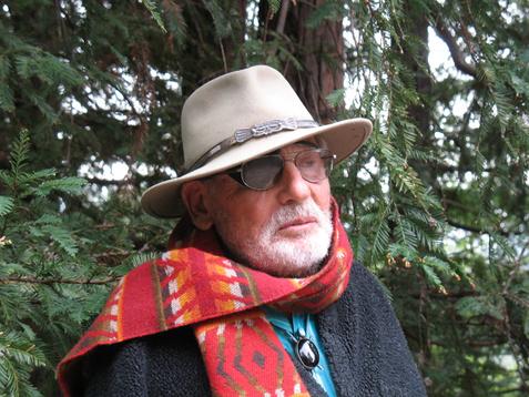 The late San Francisco landscape architect Lawrence Halprin.