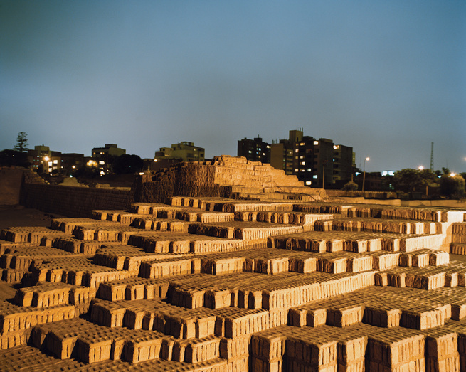 The massive Huaca Pucllana is just one of many examples of the pre-Incan architecture that dots Lima. This complex burial structure was built some 1,500 years ago.