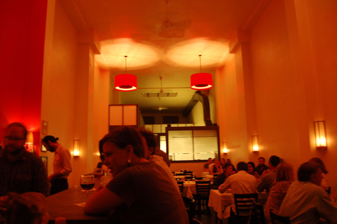 """Barbara and I kicked off our Marfa tour over """"margarita martinis"""" and good old Texas steak at <a href=""""http://www.maiyasrestaurant.com/index.html/"""">Maiya's Restaurant</a>, owned and operated by East coast expat Maiya Keck."""