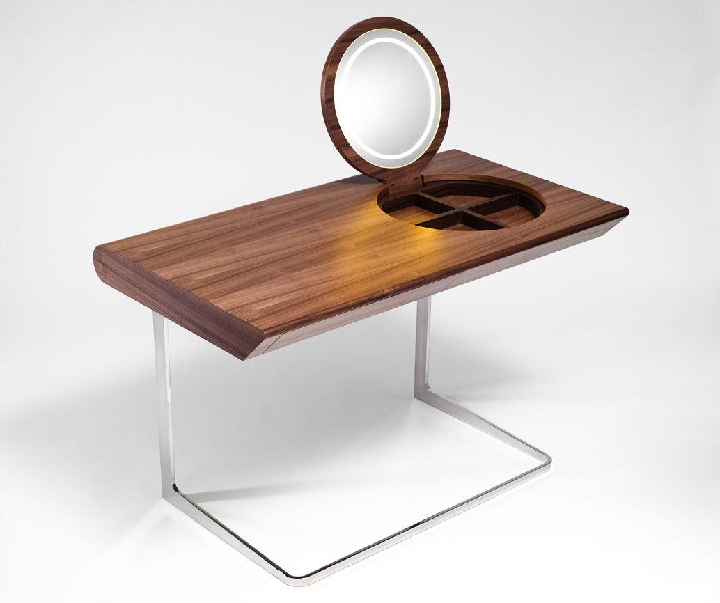 """The Princess table by <a href=""""www.olgojchorchoj.cz"""">Olgoj Chorchoj</a> is now being produced by <a href=""""www.process.cz"""">Process</a> after its debut at 100% Design London last year."""