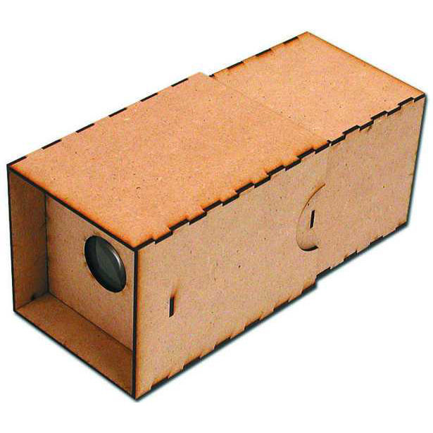 """<a href=""""http://www.reformschoolrules.com/pc/cameraobscura/schoolsupplies/Camera+Obscura+Kit"""">Camera Obscura Kit</a><br />We got these things at Christmas time and people just went nuts for them. The ancestor of all cameras, this hand-held camera obscura"""