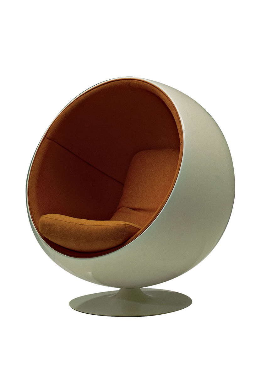 """The company marketed Eero Aarnio's 1966 Ball Chair as a meditative """"room within a room."""""""