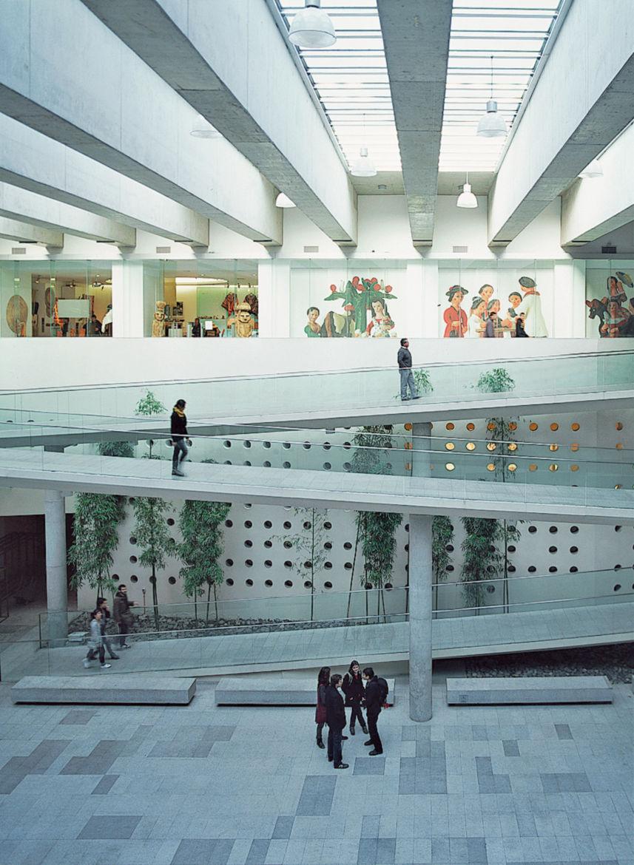 The subterranean Centro Cultural Palacio La Moneda lies beneath an esplanade but is awash with natural light. The galleries display an array of Latin American art.